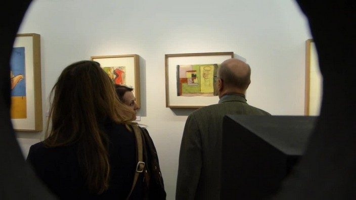eric mouchet, le corbusier, panorama d'une oeuvre, galerie, art moderne