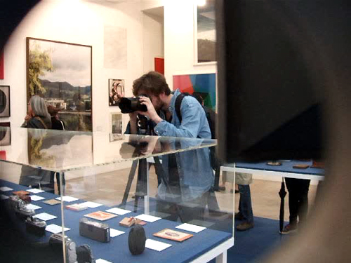 marian goodman, galerie, paris, lens drawings, museum of modern art, western antiquities, department of light recordings